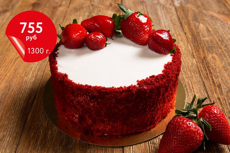 Купить торт «Красный бархат»