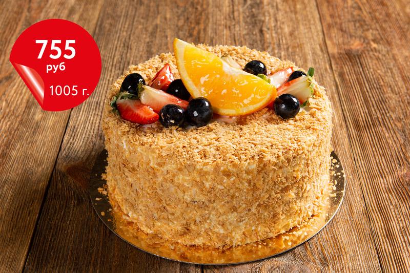 Купить торт «Киевский» 1,05кг