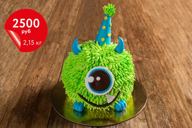 Купить торт с монстром «Сникерс» 2,15кг